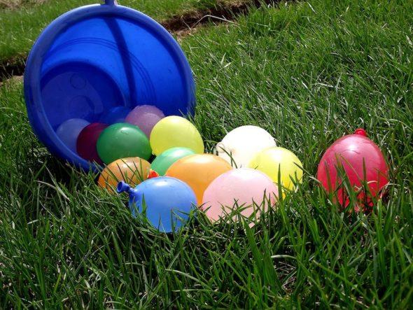 globos con agua