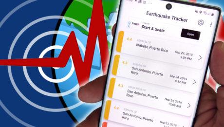 aplicaciones móviles para terremotos