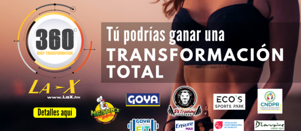 360 Body Transformation de La X auspiciadores