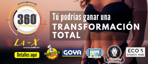 La X 360 Body Transformation Logo
