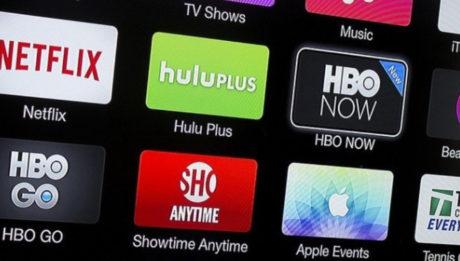 Logo de Netflix y otros servicios de streaming