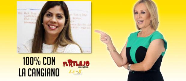a secretaria del Departamento de Recreación y Deportes, Adriana Sánchez Parés