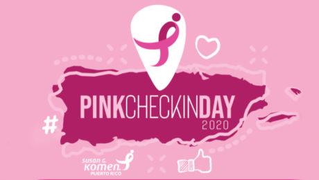 Susan G. Komen Pink Check-In Day