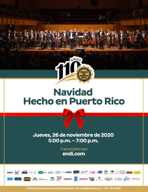 promoción concierto Hecho en Puerto Rico