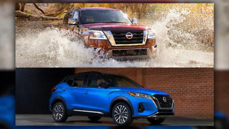 Nissan Armada y Nissan Kicks 2021