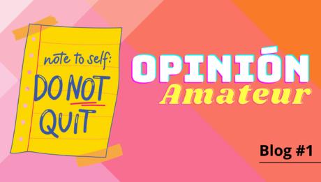 Opinión amateur