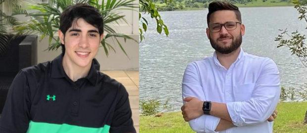 Raúl Manes Rubio y Jonathan Figueroa Santiago, se convirtieron en Contadores Públicos Autorizados