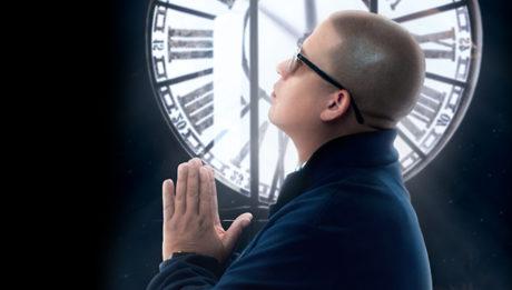 """carátula del album La hora cero"""" de Héctor Delgado"""