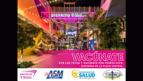 promoción de vacunación en distrito t-mobile