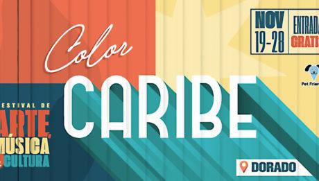 afiche promocional Color Caribe