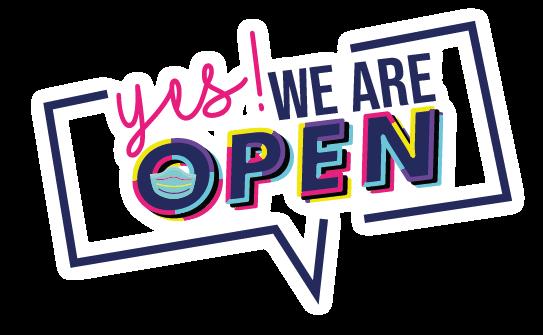 Yes We're Open! - La X